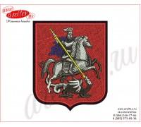 Шеврон с гербом Москвы пожарно-спасательный центр