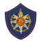 Вышитый шеврон МОСОБЛПОЖСПАС щит по приказу 511 от 27.07.2016 года